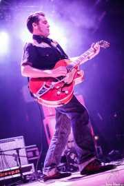 Carlos Beltrán, guitarrista de Jukebox Racket (Santana 27, Bilbao, 2012)