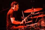 Natxo Beltrán, baterista de Mountain Men, Bilbao. 2012