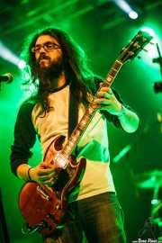 Miguel Moral, guitarrista y cantante de Mountain Men, Bilbao. 2012