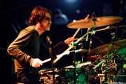 Iñigo Gil, baterista de The Fakeband, Bilbao. 2012