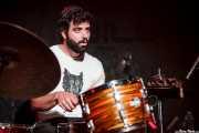 Carlos Jimena, baterista de Guadalupe Plata (30/03/2012)