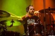 Fernando Alandes, baterista de Romeo, Kafe Antzokia, Bilbao. 2012
