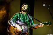 Diego Rodríguez, cantante y guitarrista de Manett, Bizkaia Aretoa - UPV/EHU, Bilbao. 2012