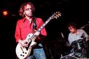 Danny Methric -guitarrista y cantante- y Todd Glass -baterista- de The Muggs, Bilbao. 2012