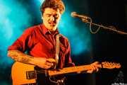 Juan Maravi, cantante y guitarrista de Muy Fellini, Bilbao. 2012