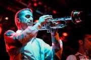 Cesc Miró, trompetista de The Big Jamboree, Jimmy Jazz Gasteiz. 2012