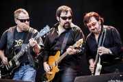 "Eric Bloom -guitarrista y cantante-, Richie Castellano -guitarrista- y Donald Brian ""Buck Dharma"" Roeser -guitarrista- de Blue Öyster Cult (14/06/2012)"