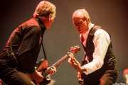 Rick Parfitt -guitarrista- y Francis Rossi -guitarrista y cantante- de Status Quo (14/06/2012)