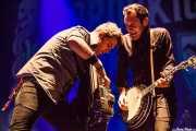 Tim Brennan y Jeff DaRosa, de Dropkick Murphys, Azkena Rock Festival, 2012