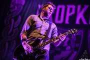 Tim Brennan, acordeonista y guitarrista de Dropkick Murphys, Azkena Rock Festival, 2012