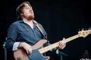 Bajista de Rich Robinson Band, Azkena Rock Festival, 2012