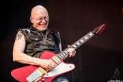 Chris Masuak, guitarrista de The Screaming Tribesmen, Azkena Rock Festival, 2012