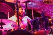 Tommy Clufetos, baterista de Ozzy and Friends, Azkena Rock Festival, 2012
