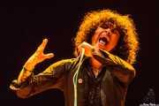 Cedric Bixler-Zavala, cantante de The Mars Volta, Azkena Rock Festival, 2012