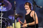 Cody Dickinson, baterista y teclista de North Mississippi Allstars, Azkena Rock Festival, Vitoria-Gasteiz. 2012