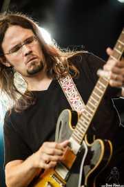 Luther Dickinson, cantante y guitarrista de North Mississippi Allstars, Azkena Rock Festival, Vitoria-Gasteiz. 2012