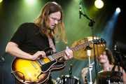 Luther Dickinson -voz y guitarra- y Cody Dickinson -batería y percusión- de North Mississippi Allstars, Azkena Rock Festival, Vitoria-Gasteiz. 2012