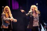 Dale Krantz Rossington y Carol Chase, coristas de Lynyrd Skynyrd, Azkena Rock Festival