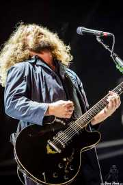 Jim James, cantante y guitarrista de My Morning Jacket, Azkena Rock Festival