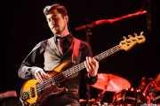 "Tom Blankenship (""Two Tone"" Tommy), bajista de My Morning Jacket, Azkena Rock Festival"