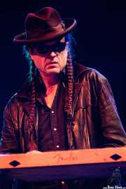 Andy Gibson, steel guitar de Hank Williams III & The Damn Band, Azkena Rock Festival