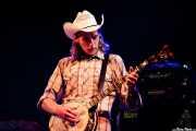 Daniel Mason, banjo de Hank Williams III & The Damn Band, Azkena Rock Festival