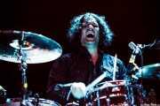 Russell Simins, baterista de The Jon Spencer Blues Explosion, Bilbao BBK Live, Bilbao. 2012
