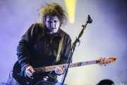 Robert Smith, cantante y guitarrista de The Cure, Bilbao BBK Live, Bilbao. 2012