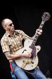 David Krahe, guitarrista de Corizonas, Bilbao BBK Live, Bilbao. 2012