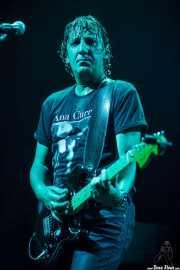 Cesar Scappa, guitarrista de Ana Curra presenta El Acto (Kafe Antzokia, Bilbao, 2012)
