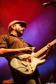 Josele Santiago, guitarrista y cantante de Los Enemigos, Pabellón de La Casilla, 2012