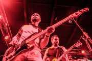 Danilo Valerii -bajista- y Lorenzo Moretti -guitarrista- de Giuda, Funtastic Dracula Carnival. 2012