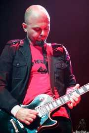 Andrea Bonfiglio, guitarrista de The Diesel Dogs (Kafe Antzokia, Bilbao, 2012)