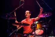 Juan Marco, baterista de The Diesel Dogs (Kafe Antzokia, Bilbao, 2012)
