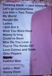 Setlist de Lee Fields & The Expressions (, , 2012)