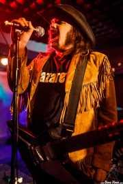 Blaine Cartwright, cantante y guitarrista de Kentucky Bridgeburners (Sala Edaska, Barakaldo, 2012)