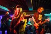 Earl Crim -guitarra-, Blaine Cartwright -voz y guitarra-, Rob Hulsman -batería- y Todd Gorrel -bajo- de Kentucky Bridgeburners (Sala Edaska, Barakaldo, 2012)