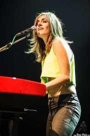 Maika Makovski, cantante, guitarrista y teclista, Kafe Antzokia, Bilbao. 2012