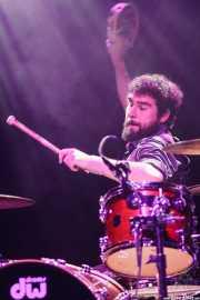 David Martínez, baterista de Maika Makovski, Kafe Antzokia, Bilbao. 2012