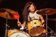 Emily Rose Epstein, baterista de Ty Segall Band, Gazteszena, Donostia / San Sebastián. 2012
