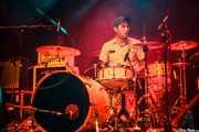 Javi Caballero, baterista de Jukebox Racket (Kafe Antzokia, Bilbao, 2012)