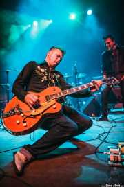 Javier Zaitegui -voz- y Carlos Beltrán -guitarra- de Jukebox Racket (Kafe Antzokia, Bilbao, 2012)