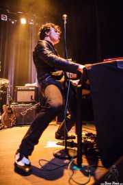 Henri Herbert, teclista de The Jim Jones Revue (Kafe Antzokia, Bilbao, 2012)