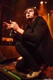 Jim Jones, cantante y guitarrista de The Jim Jones Revue (Kafe Antzokia, Bilbao, 2012)
