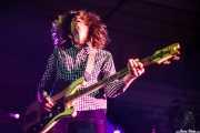 Warren Bailey, bajista de Gentleman Jesse (Purple Weekend Festival, León, 2012)