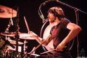 Andoni Etxebeste, baterista de Supersweet, Teatro Campos, Bilbao. 2013