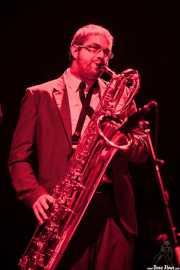 Nicolás Rodriguez-Jauregui, saxofonista de The Excitements, Kafe Antzokia, 2013