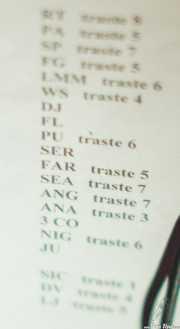 Setlist de Dover, Sala Azkena, Bilbao. 2013