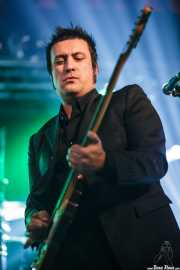 David Hono, cantante y guitarrista de Sonic Trash, Sala Rockstar, Barakaldo. 2013