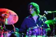 Russell Simins, baterista de The Jon Spencer Blues Explosion, Kafe Antzokia, Bilbao. 2013